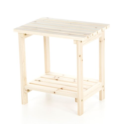 Rectangular Cedar Side Table
