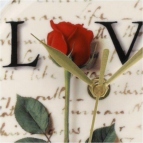 "PS Collection Love Letters 8"" Wall Clock"