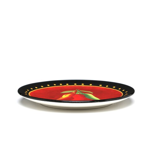 "Certified International Caliente by Joy Hall 8.75"" Salad Plate"