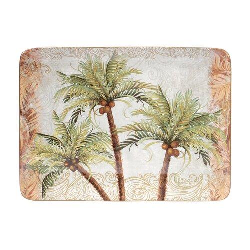 """Certified International Key West 16"""" Rectangular Platter"""