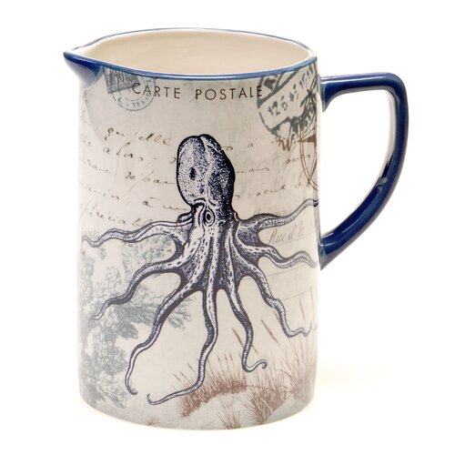 Coastal Postcards 2.5 Qt. Pitcher