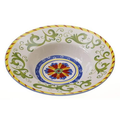 "Certified International Amalfi 14.25"" Pasta Serving Bowl"