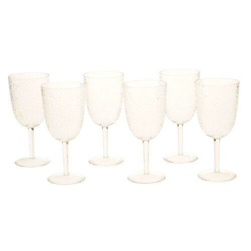 16 oz. Acrylic All Purpose Goblet (Set of 6)