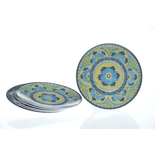 "Certified International Mexican Tile 9"" Salad Plate"