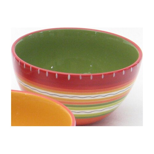 Certified International Hot Tamale Ice Cream Bowl