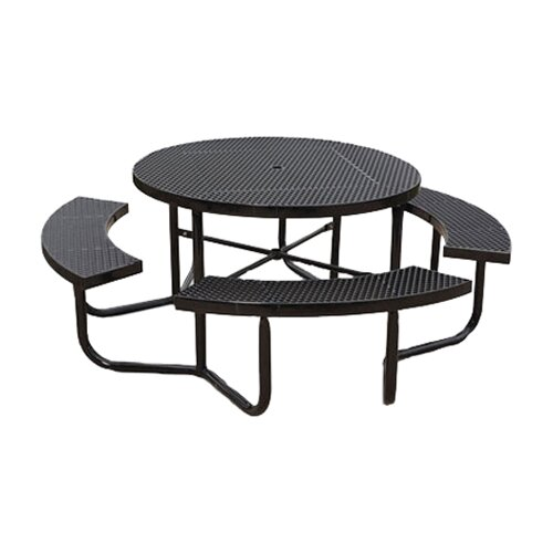 Round Expanded Portable Picnic Table
