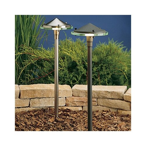 Kichler Glass and Metal Landscape Path Light