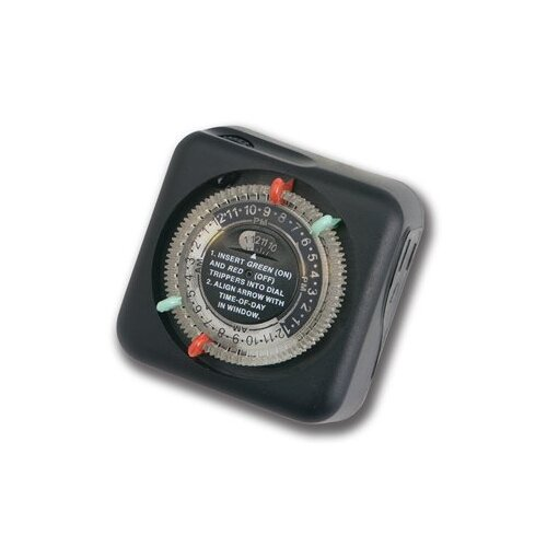 Kichler Outdoor Enclosure Timer in Black Material