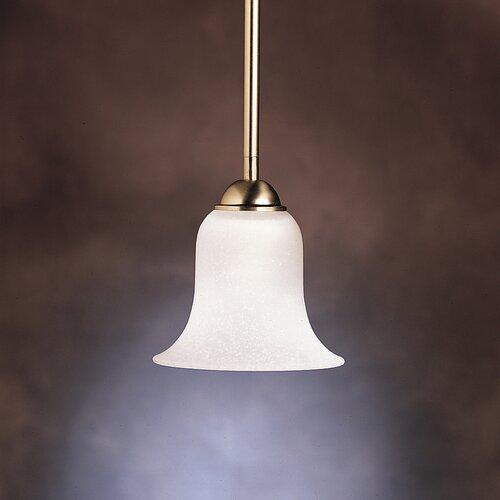 Kichler 1 Light Inverted Mini Pendant