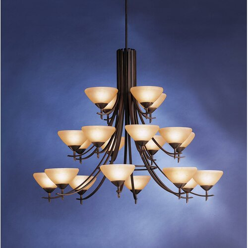 Kichler Olympia 20 Light Chandelier