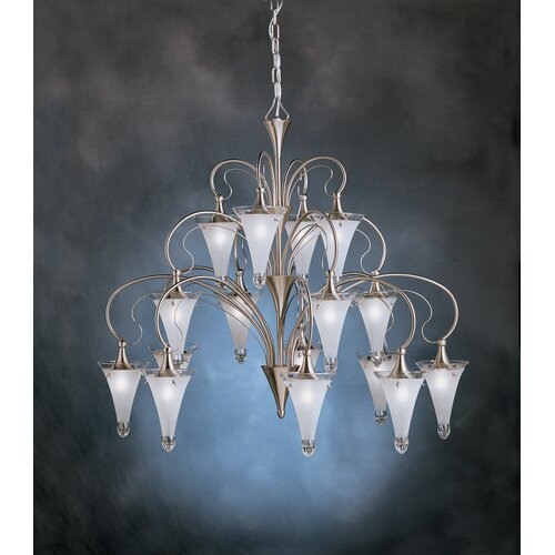 Kichler Raindrops 16 Light Chandelier