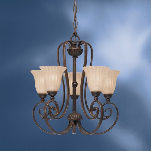Kichler Willowmore 5 Light Chandelette