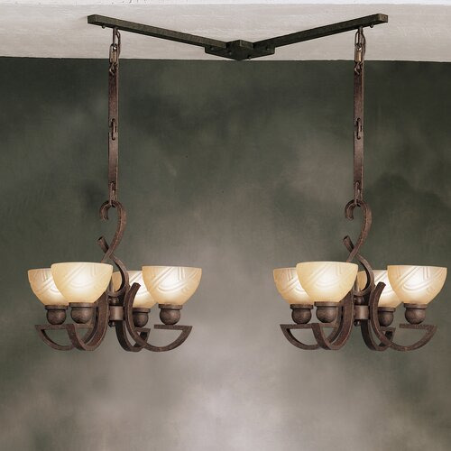 Kichler Mini Multi-Pendant Hanger in Tannery Bronze