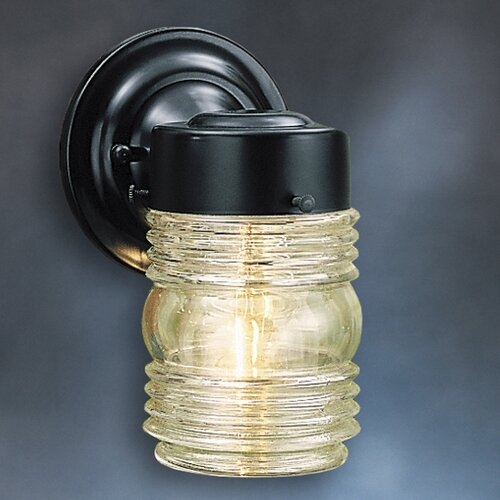 Kichler Outdoor Incandescent Jelly Jar Lantern
