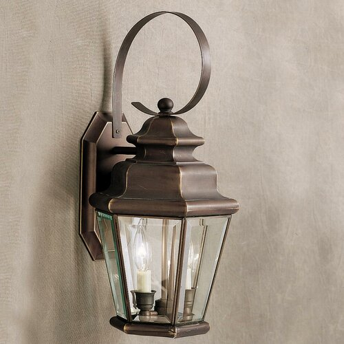 Kichler Savannah Estates Outdoor Wall Lantern