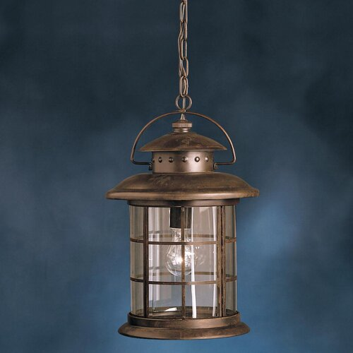 Kichler Rustic 1 Light Outdoor Ceiling Pendant