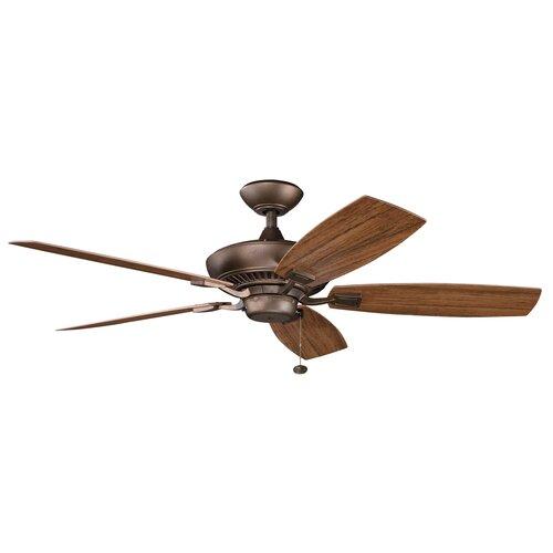 "Kichler 52"" Canfield 5 Blade Patio Ceiling Fan"