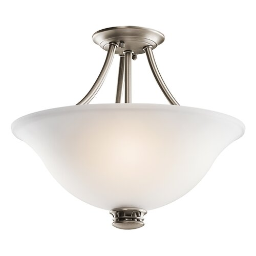 Kichler Durham 2 Light Semi Flush Mount