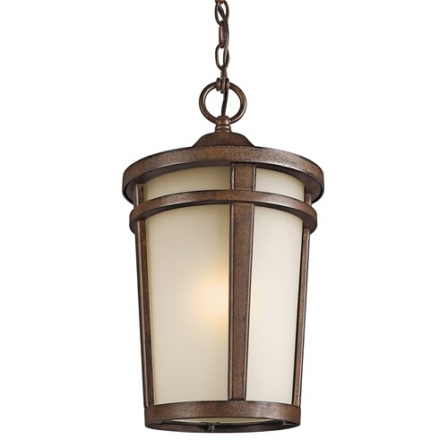 Kichler Atwood 1 Light Outdoor Hanging Lantern