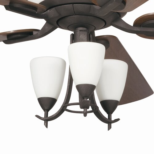 Kichler Olympia Three Light Branched Ceiling Fan Light Kit