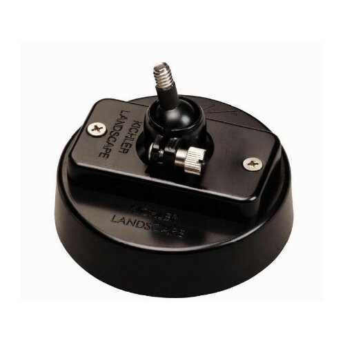 Kichler Adjustable Mounting Flange in Black