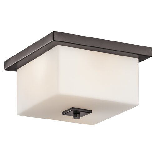 Kichler Bowen 2 Light Outdoor Flush Mount