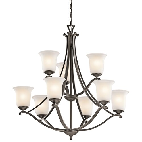 Kichler Wellington Square 9 Light Chandelier