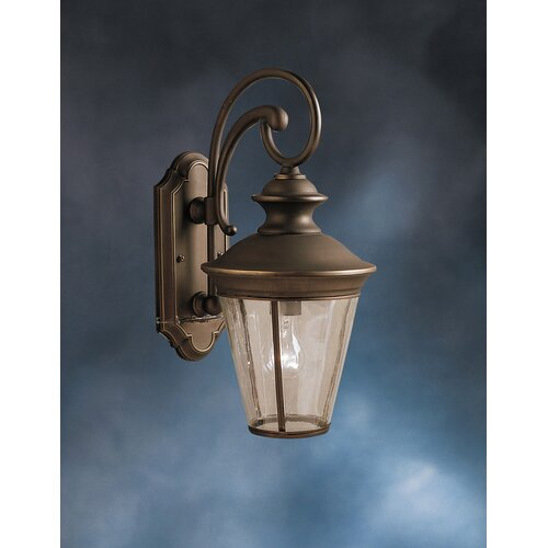 Kichler Eau Claire 1 Light Outdoor Wall Sconce