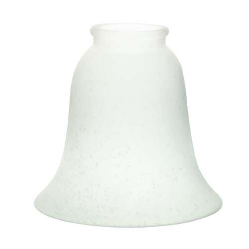 "Kichler 12.13"" Glass Bell Pendant Shade"