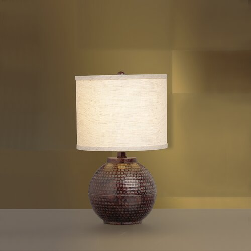 """Kichler New Informality Round 16"""" H Table Lamp with Drum Shade"""