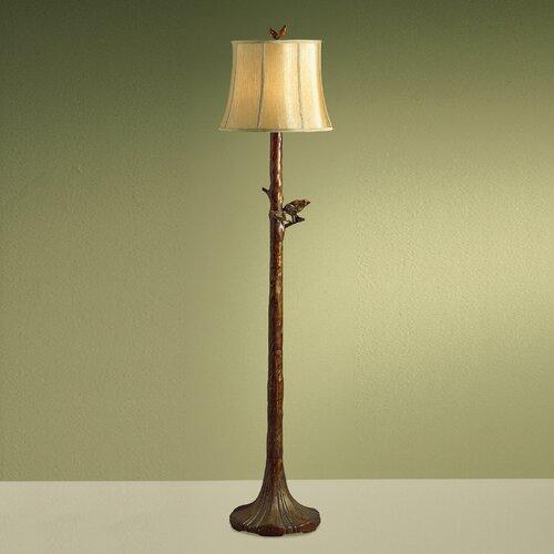 Kichler New Informality Bird and Branch Floor Lamp