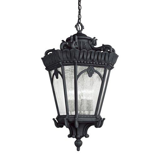 Kichler Tournai 4 Light Hanging Lantern