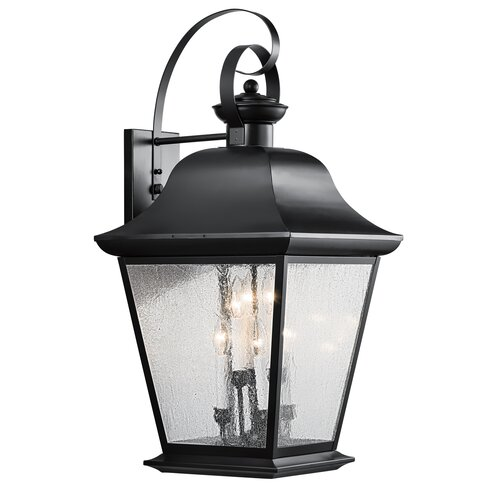 Kichler Mount Vernon 6 Light Outdoor Wall Lantern