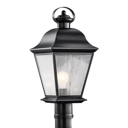 Kichler Mount Vernon 1 Light Outdoor Post Lantern
