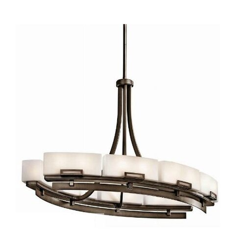 Leeds 12 Light Oval Chandelier