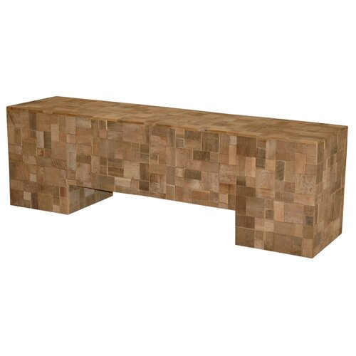 Sequoia Recycled Wood Bench