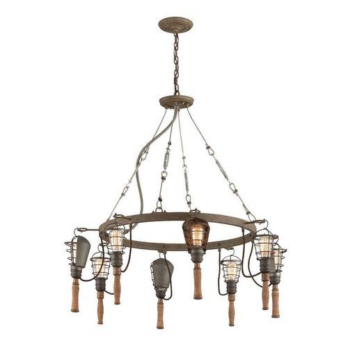 wrought iron light pendant wayfair. Black Bedroom Furniture Sets. Home Design Ideas