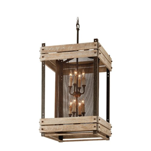 Merchant Street 8 Light Pendant