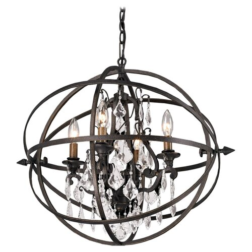 Troy Lighting Byron 4 Light Pendant