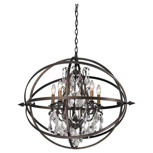 Byron 5 Light Pendant