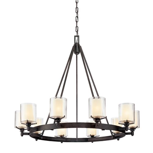 Arcadia 10 Light Chandelier