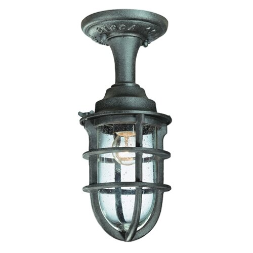 Troy Lighting Wilmington 1 light Flush Mount