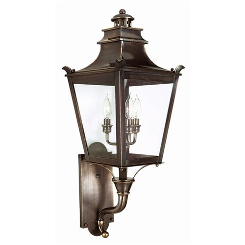 Troy Lighting Dorchester 3 Light Wall Lantern