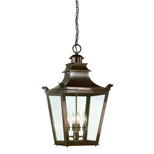 Troy Lighting Dorchester 4 Light Hanging Lantern