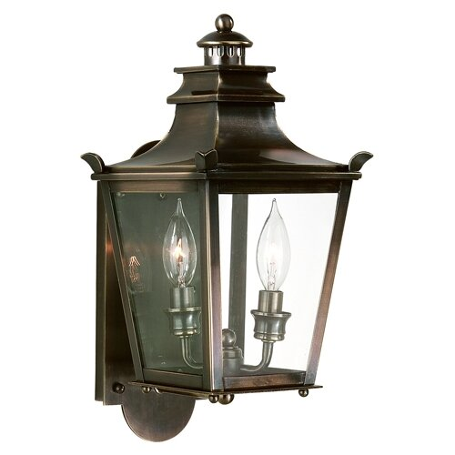 Troy Lighting Dorchester 2 Light Wall Lantern