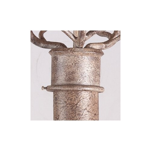 "Troy Lighting 84"" Wrought Iron Lantern Post"