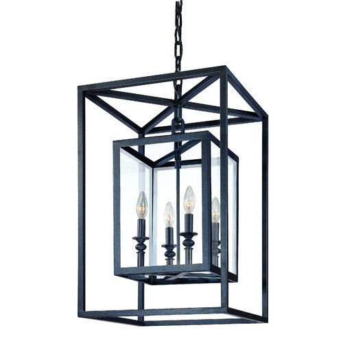Troy Lighting Morgan 4 Light Medium Foyer Pendant