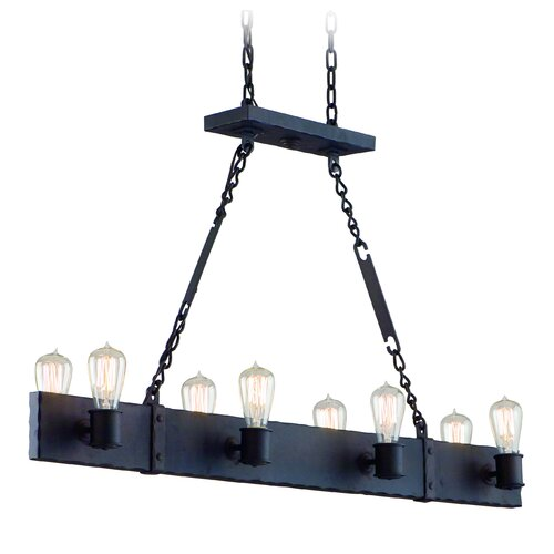 Jackson 8 Light Kitchen Island Pendant