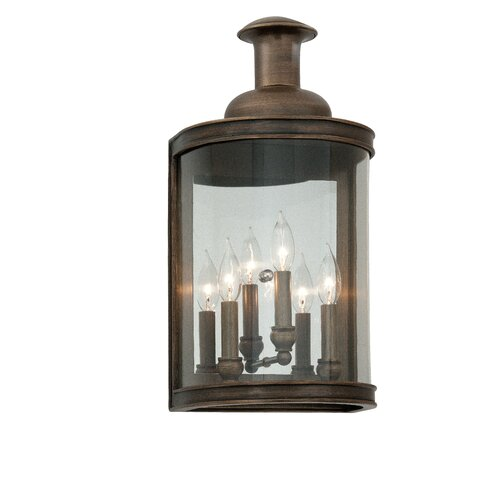 Troy Lighting Pullman 3 Light Outdoor Wall Light