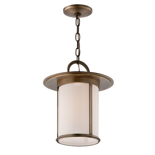 Troy Lighting Wright 1 Light Outdoor Pendant